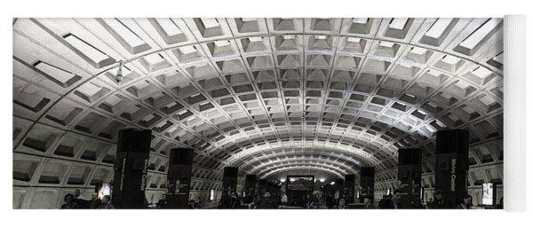 Washington Dc Metro Metro Center Stop Yoga Mat