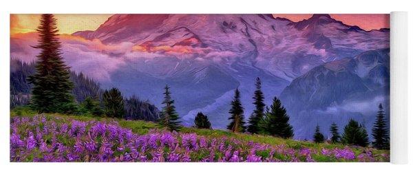 Washington, Mt Rainier National Park - 05 Yoga Mat