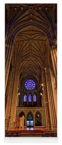 Washington National Cathedral Crossing Yoga Mat