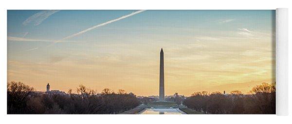 Washington Sunrise Yoga Mat