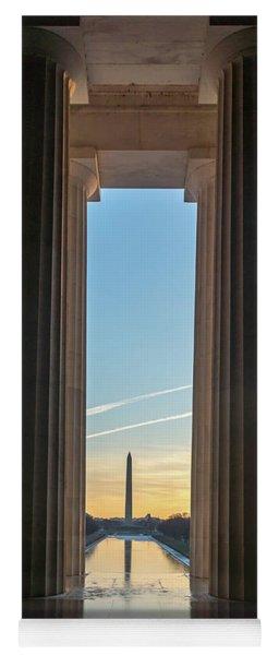 Washington Through Lincoln Yoga Mat