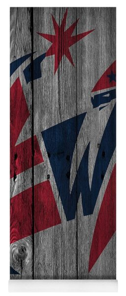 Washington Wizards Wood Fence Yoga Mat