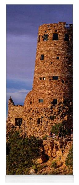 Watch Tower - Desert View Point - Grand Canyon Arizona Yoga Mat