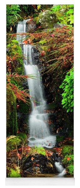 Waterfall At Kubota Garden Yoga Mat