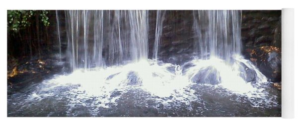 Yoga Mat featuring the photograph Water Fall  by Jimmy Clark