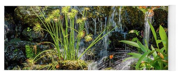 Water Falls 1 Yoga Mat