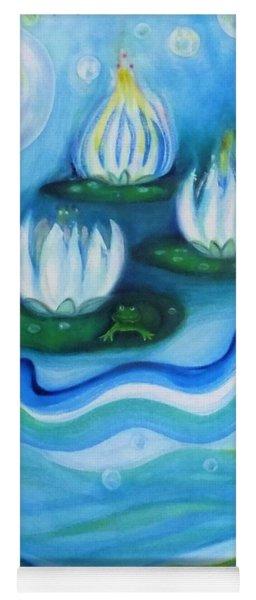 Water Garden Yoga Mat