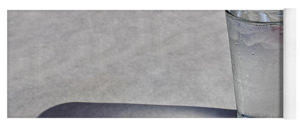 Water Glass Yoga Mat