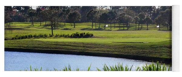 Water Hazard Tpc Sawgrass Yoga Mat