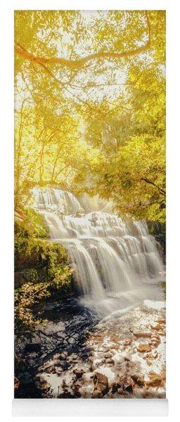 Water In Fall Yoga Mat