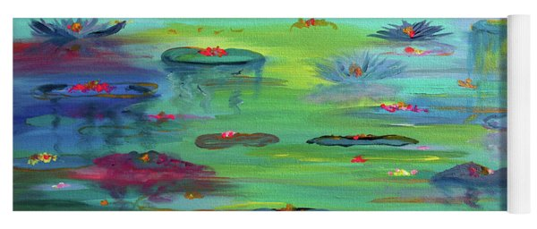 Water Lillies Yoga Mat