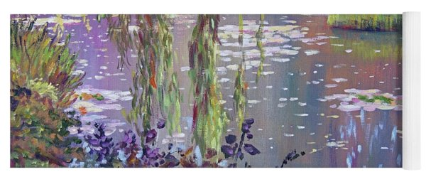 Water Lily Pond Giverny Yoga Mat