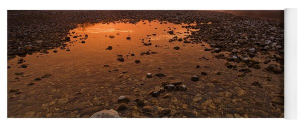 Water On Mars Yoga Mat