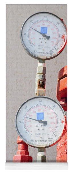 Water Pressure Gauge  Yoga Mat