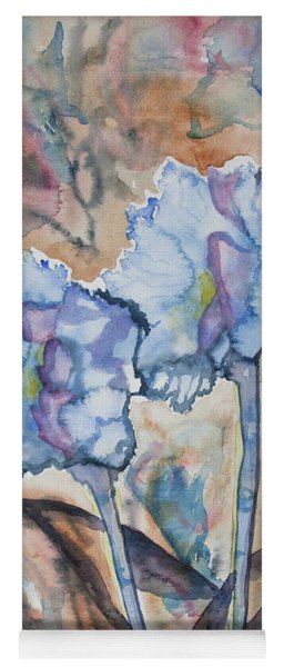 Watercolor - Orchid Impression Yoga Mat