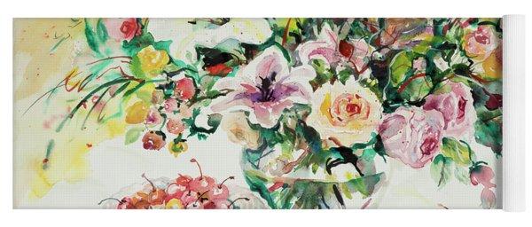 Watercolor Series 1 Yoga Mat