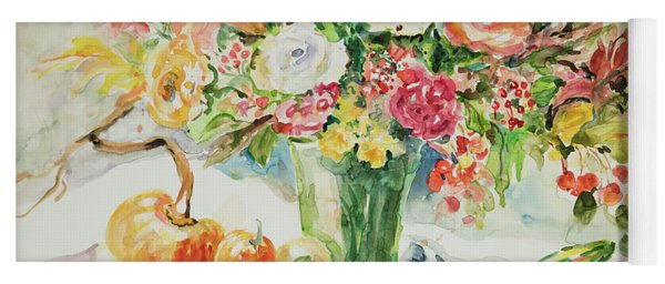 Watercolor Series 11 Yoga Mat