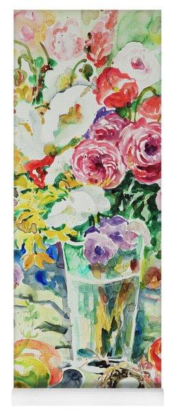 Watercolor Series 12 Yoga Mat