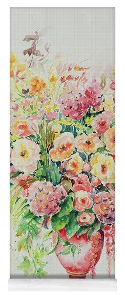 Watercolor Series 14 Yoga Mat