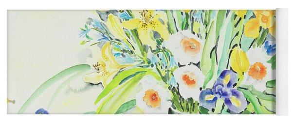 Watercolor Series 143 Yoga Mat