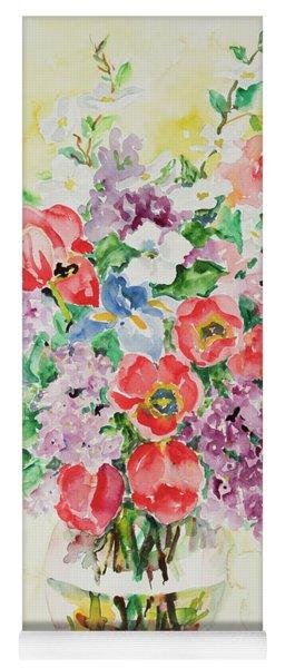 Watercolor Series 24 Yoga Mat