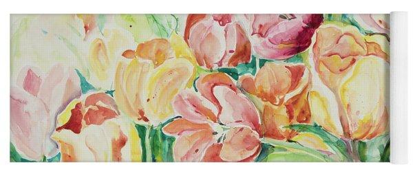Watercolor Series 25 Yoga Mat