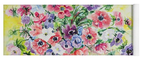 Watercolor Series 27 Yoga Mat