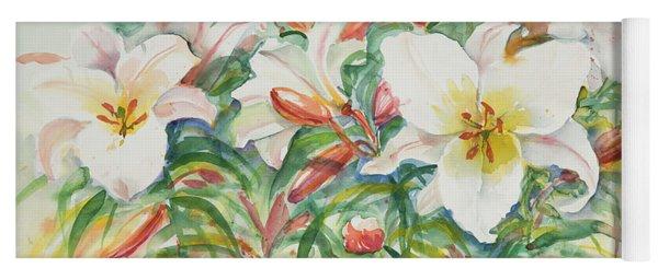 Watercolor  Series 30 Yoga Mat