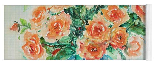 Watercolor Series 32 Yoga Mat