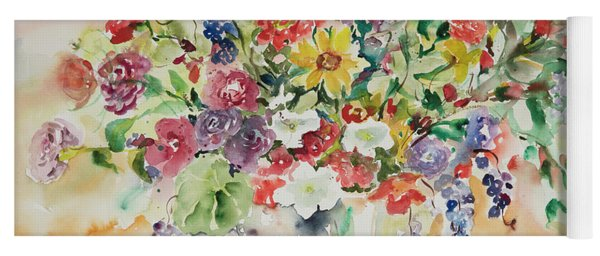 Watercolor Series 33 Yoga Mat