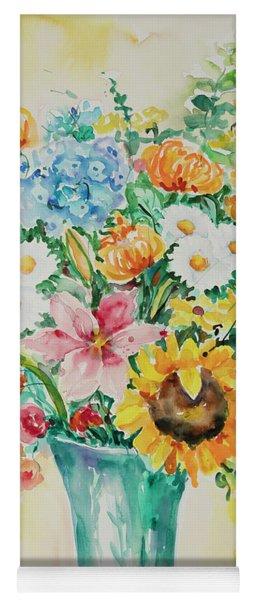 Watercolor Series 35 Yoga Mat