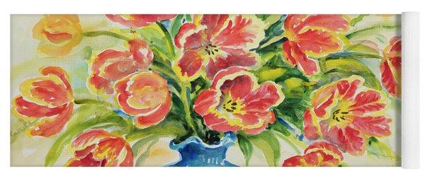 Watercolor Series 38 Yoga Mat