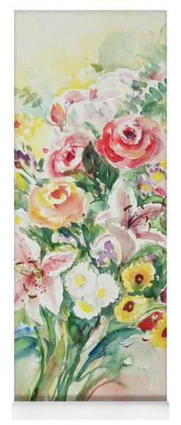 Watercolor Series 41 Yoga Mat