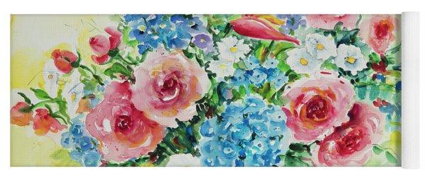 Watercolor Series 42 Yoga Mat