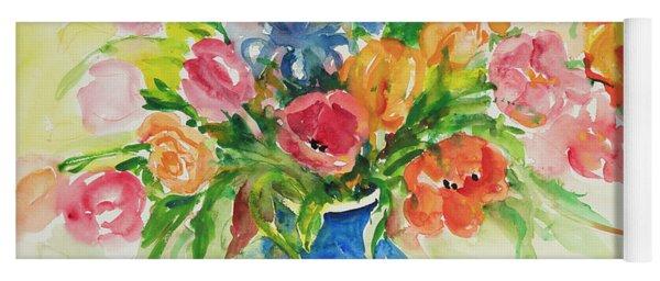 Watercolor Series 44 Yoga Mat