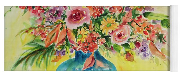 Watercolor Series 46 Yoga Mat