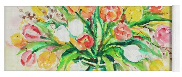 Watercolor Series 48 Yoga Mat