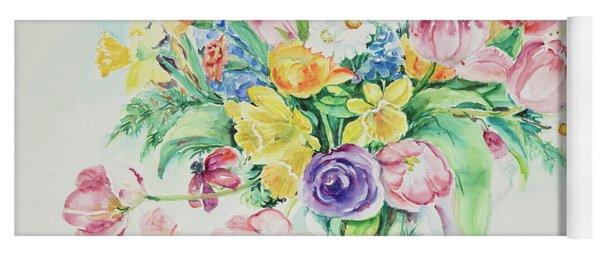 Watercolor Series 5 Yoga Mat