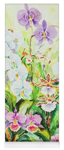 Watercolor Series 52 Yoga Mat