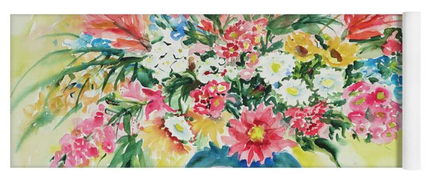 Watercolor Series 58 Yoga Mat