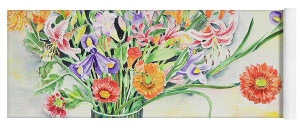 Watercolor Series 6 Yoga Mat