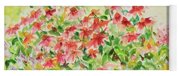 Watercolor Series 9 Yoga Mat