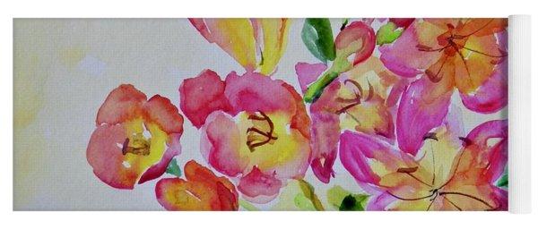 Watercolor Series No. 225 Yoga Mat