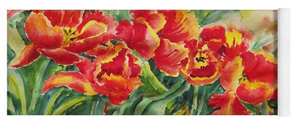 Watercolor Series No. 241 Yoga Mat