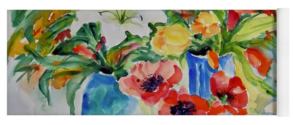 Watercolor Series No. 256 Yoga Mat