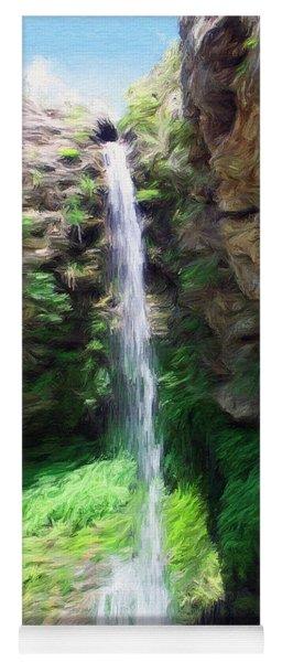 Waterfall 2 Yoga Mat