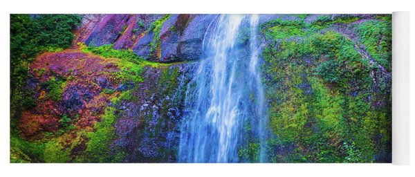 Waterfall 3 Yoga Mat
