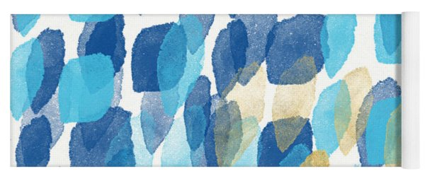 Waterfall- Abstract Art By Linda Woods Yoga Mat