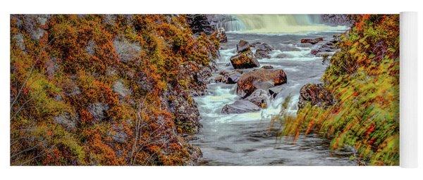 Waterfall #g8 Yoga Mat