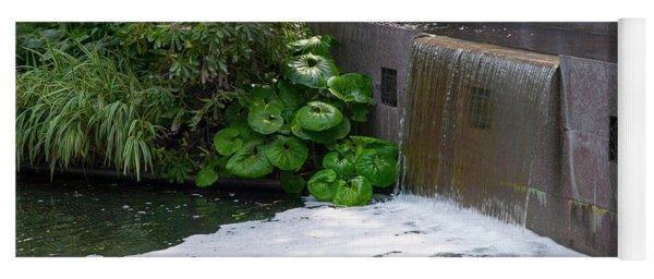 Waterfall - Longwood Gardens Yoga Mat